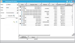 Logiciel, gestion des stocks, laboratoire, gestion des dates de péremption
